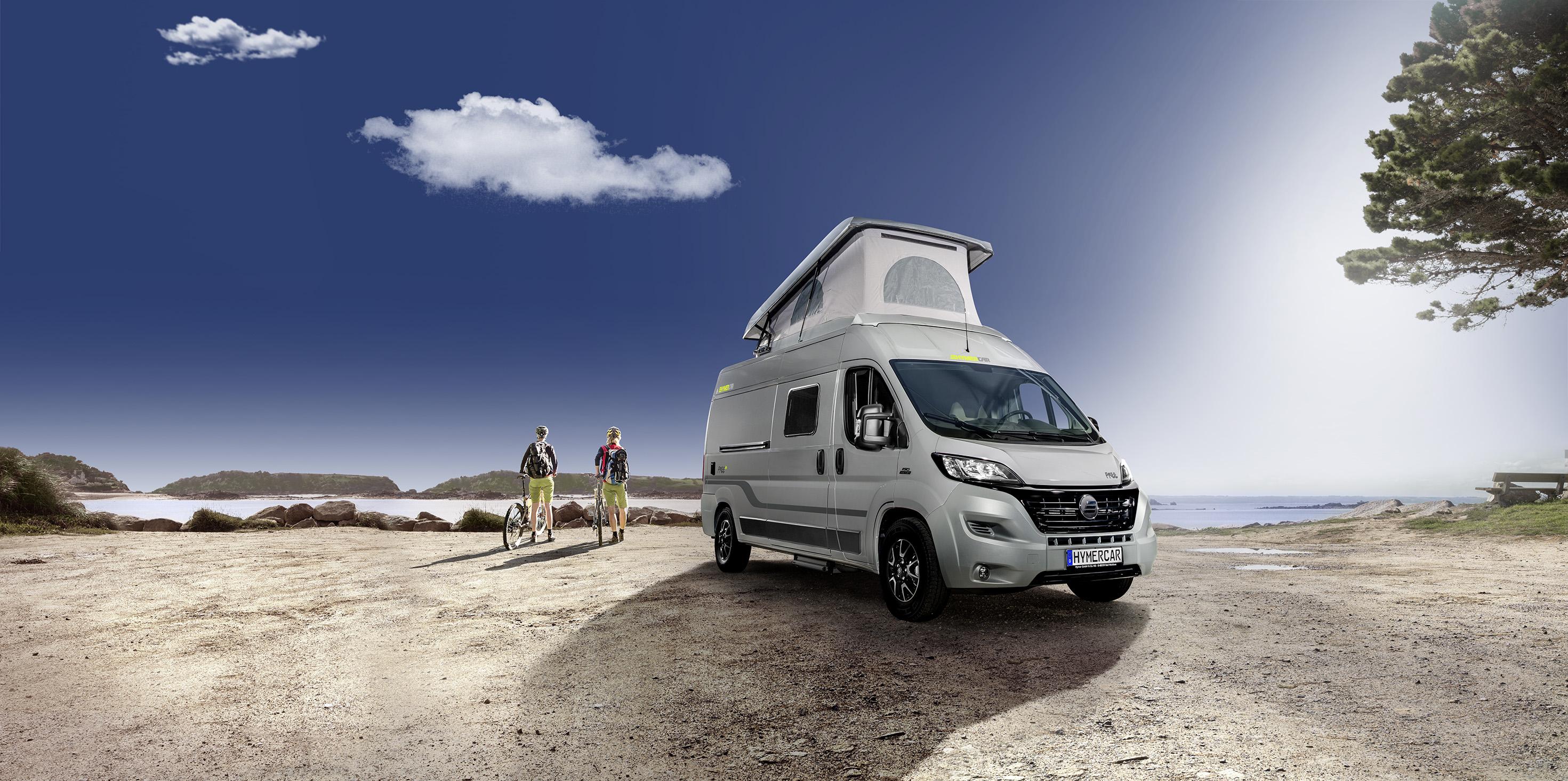 HYMERCAR Free - Camper Van auf Fiat-Chassis