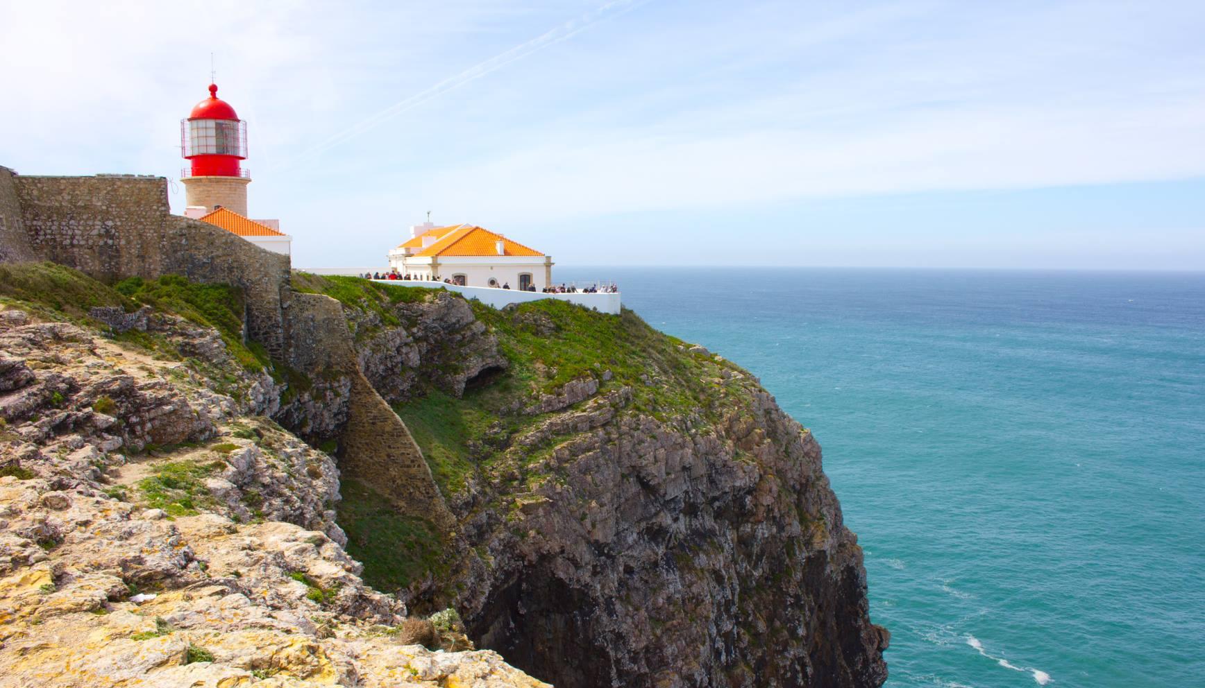 »Cabo de São Vicente« - der südwestlichste Punkt des Kontinents