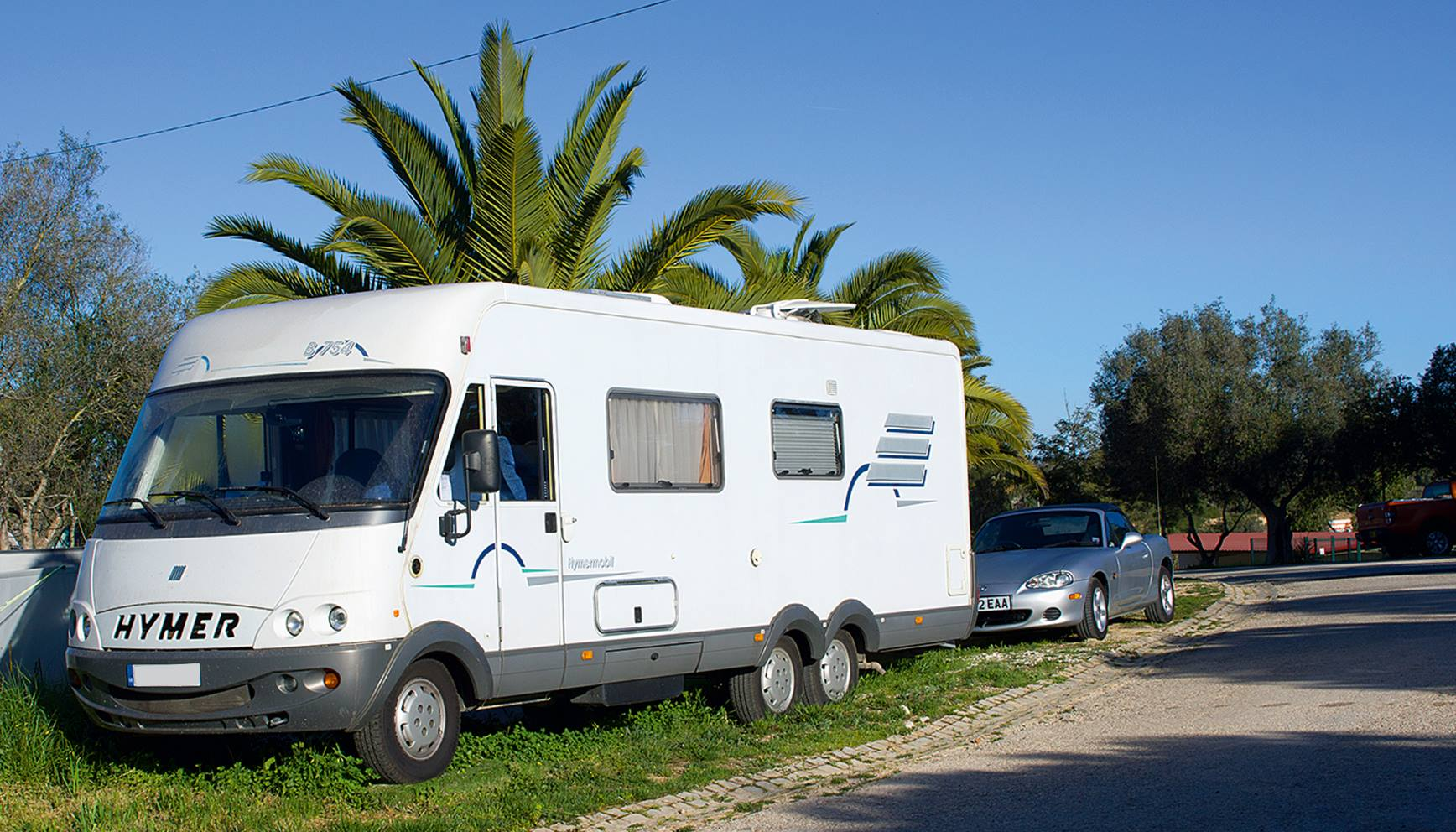 Landyachting am Motorhome Park Falesia